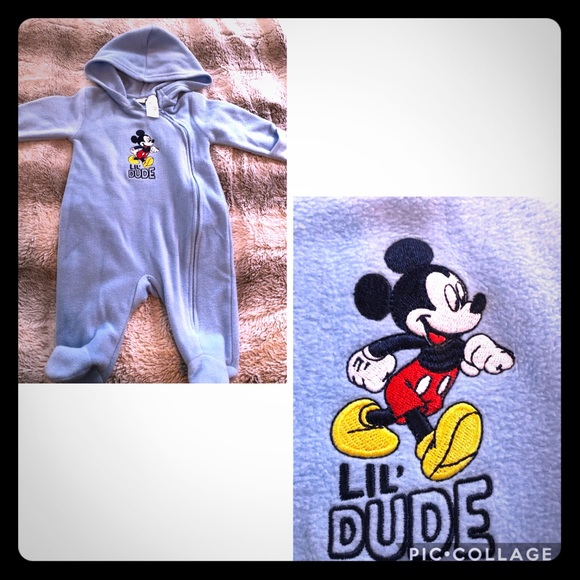 Disney Other - Baby Boy Mickey Mouse Coverall